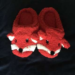 Bath And Body Works Fox Slippers