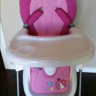 Baby Girl Highchair