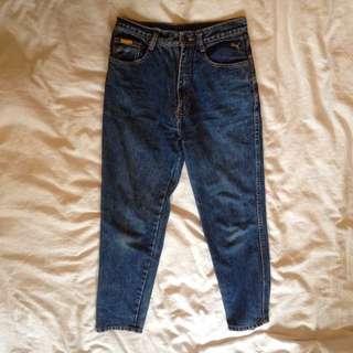 Vintage high waisted mom jeans