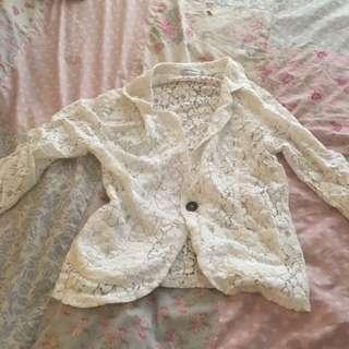 Paper Scissors Size 8 Lace Jacket