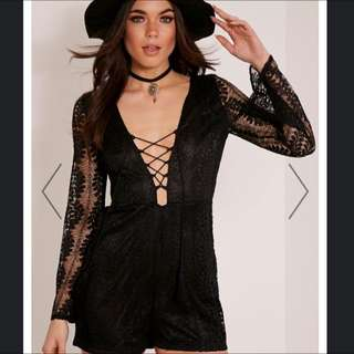 Pretty Little Thing Lace Jumpsuit