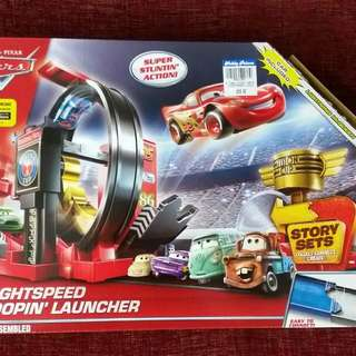 Disney Cars Looping Launcher Playset