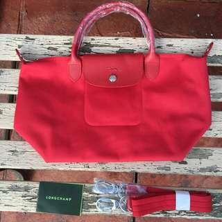 SALE!! Longchamp Le Pliage Neo Small Red