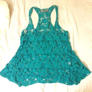 Teal Swim cover up