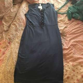 Size L Blue Dress BNWT