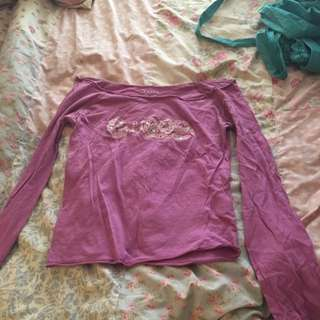 XS Guess Long Sleeve Top