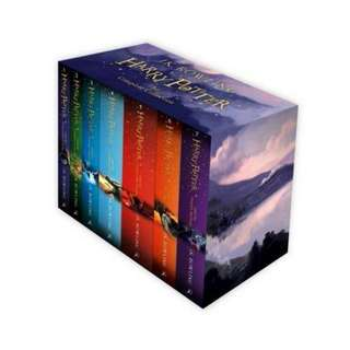 Harry Potter Bloomsbury Box Set by J.K. Rowling