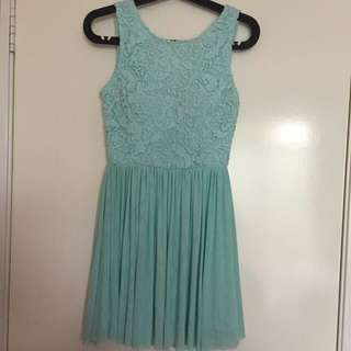 Dress (mint colour)