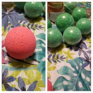 Green Apple Bath Boombs