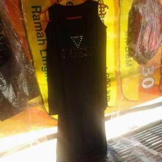 Dress Black Spandek