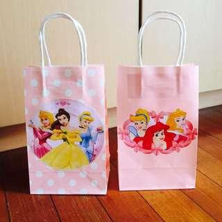 Handmade Disney Princess Paper Party/ Goodie Bag