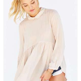 LOOKING FOR: UO Cooperative Bree Babydoll Tunic Top