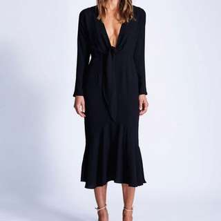 MAURIE AND EVE • BLACK DRESS • Size 10