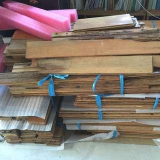 賣二手實木地板