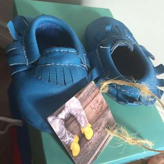 Authentic Baby Mocasins Leather