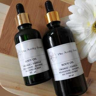 Body Oil - Orange Vanilla