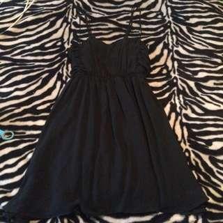 Asos Black Dress Size 16