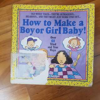 how to make a boy or girl baby
