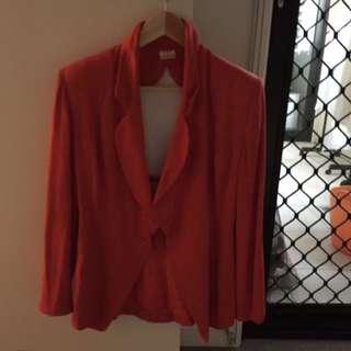 Orange sexy Blazer