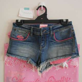 superdry hot pants