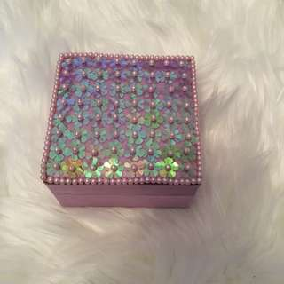 Small Purple Storage Box