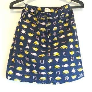 Gorman Eye Skirt Size 06