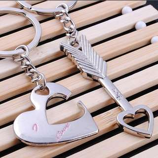 Couple Key Chain (Heart + Arrow)