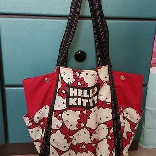 Sanrio hello kitty 大袋 手袋 旅行袋 奶粉袋 媽咪袋