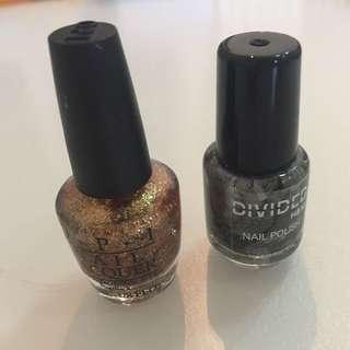 Opi mini & Divided H&M mini