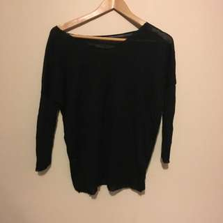 Black Knitted Top (s)