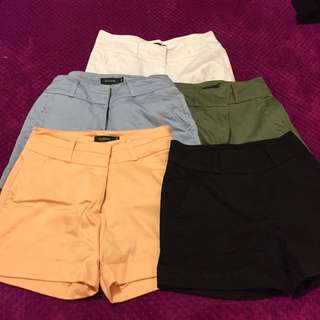 Glassons Shorts Bundle Size 6