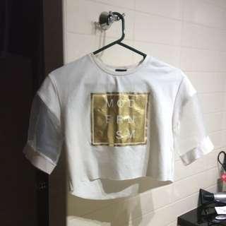 Modernism Crop Shirt