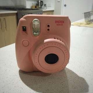Pink Instax Mini 8 --pending--