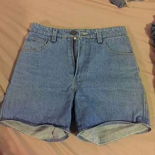 jean shorts high waist size S