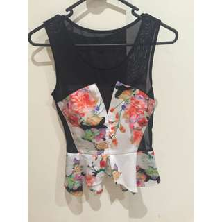 Floral Dressy Top