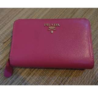 Prada inspired medium wallet