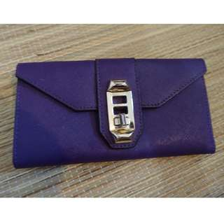 Pre-loved 100% original Rebecca Minkoff purple wallet