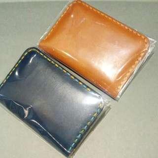 訂製,手作卡片套,啡色188,藍色漂染308