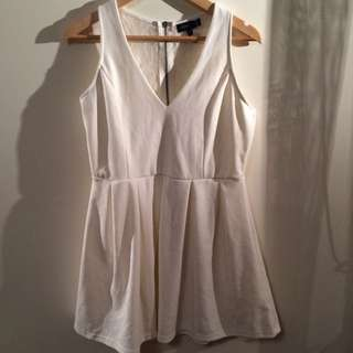 Womens Size 12 White & Lace Dress ' Caroline Morgan'