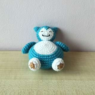 Pokémon - Snorlax (with desired name tag or message tag)