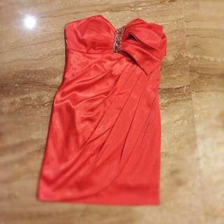 Soft Orange Dress