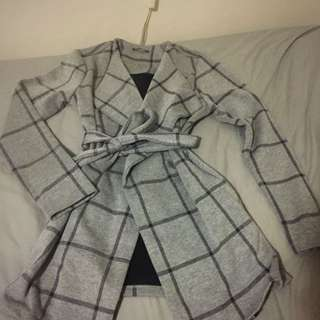 Tokito Checked Coat