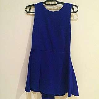 Simple Blue Dress