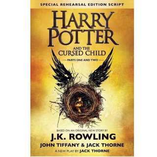 Harry Potter And The Cursed Child Ebook