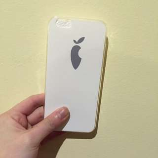 iPhone 6/6s White Carrot Soft Case
