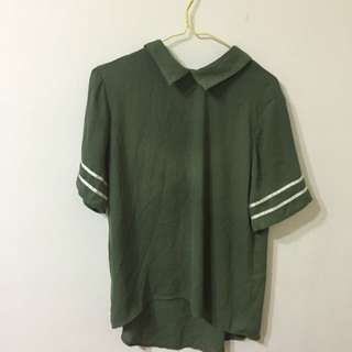 starmimi 綠色上衣