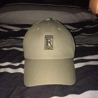 Beige Carre Paris Hat