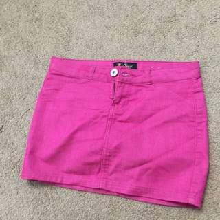 Pink Guess Skirt