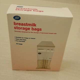 Boots Breastmilk Storage Bag (250ml)