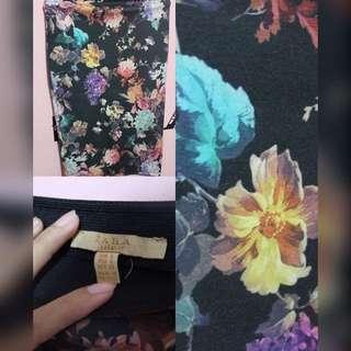 Zara Midi Flower Skirt